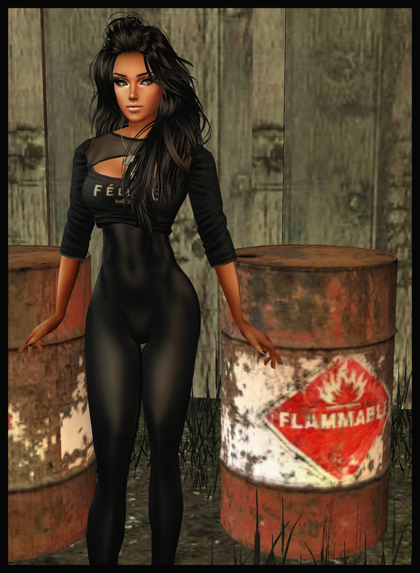 Brianna: Very Flammable-PhotoShoot 2 :3 by LaraLuvsMe