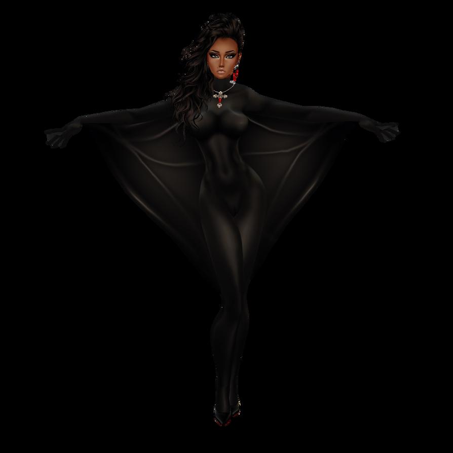 BlaqHeart v2 or CatSuit Commando-WingBat Suit by LaraLuvsMe