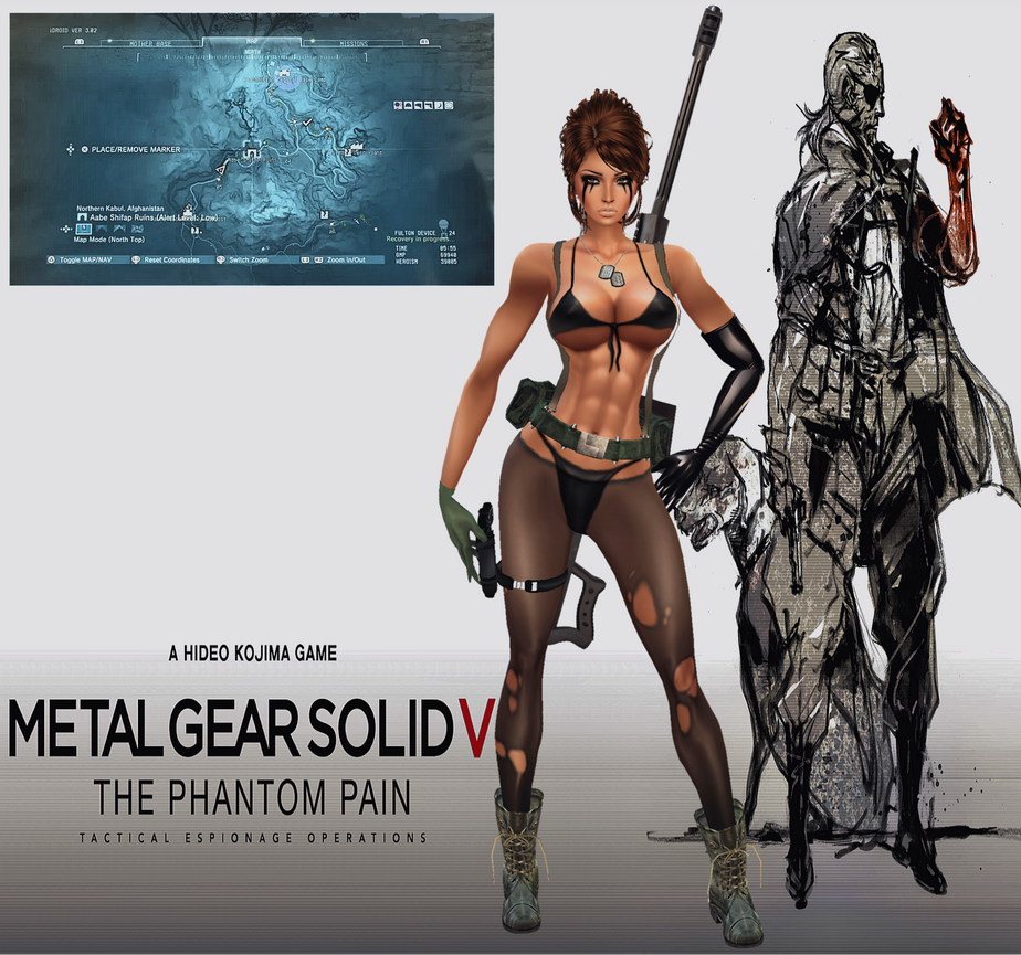 MGS V: Phantom Pain_Quiet's Silent Intro :3 by Krypto4CatSuits