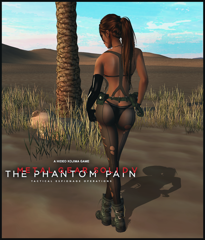 MGSV: Quiet_Where is my Sniper Rifle at? by iRawr4Lara