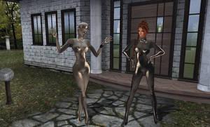 CS Commando: Tish-Laura_Showin off the Suit Pt.3