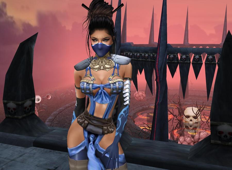 MKX: Kitana-First Look_IMVUart :3 by iRawr4Lara