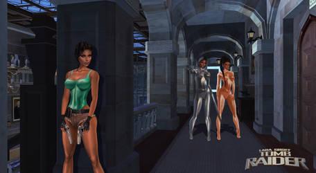 Tomb Raider: Lara vs Terminators_Ready 2 Rumble by Darc4ssass1nCMD