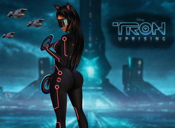 Purrsday: Tron-Uprising_ShadowClaw Intro by Darc4ssass1nCMD