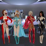 Caturday: When Super Heroines Argue....