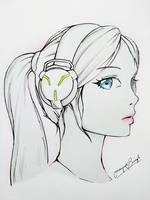 Miss HeadPhone by MayurSingh007