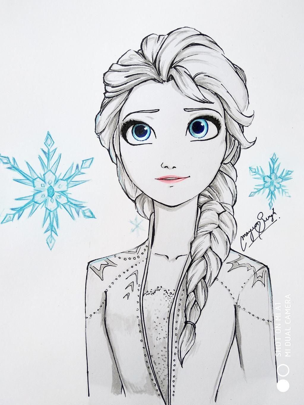 Elsa by MayurSingh007