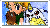 Bp_Matt and Gabumon Stamp by Stamp221