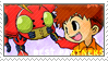 BP_Izzy and Tentomon Stamp by Stamp221