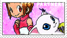 BP_Kari and Gatomon Alt. Stamp by Stamp221