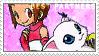 BP_Kari and Gatomon Alt. Stamp by Stamp221