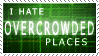 Overcrowded Places Stamp