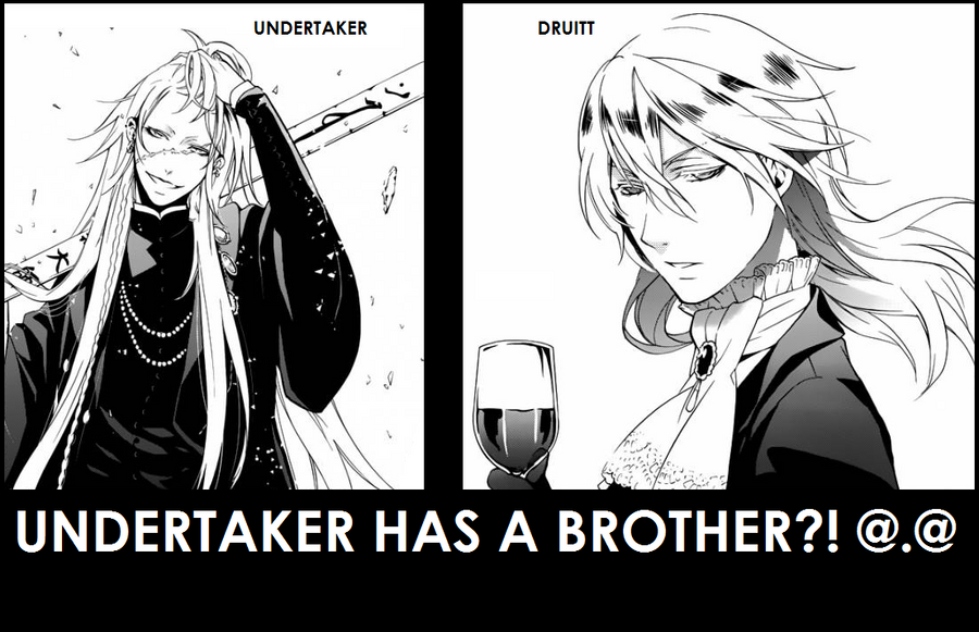 Undertaker Has A Brother By Grell2lover13