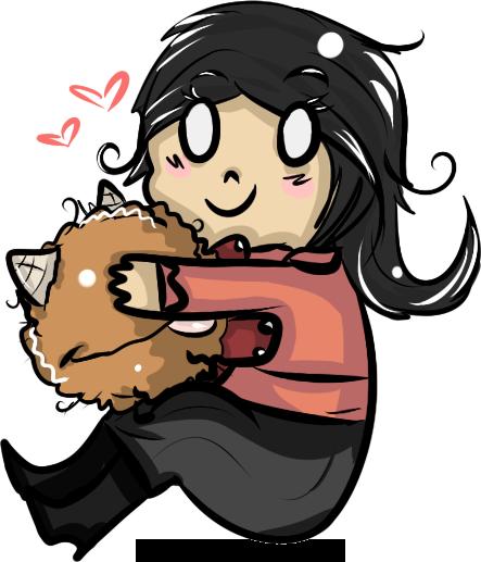 It is so fluffy! by Muffycake