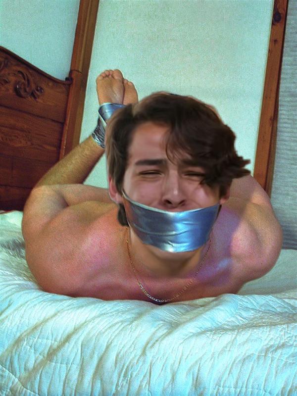 hogtied gagged