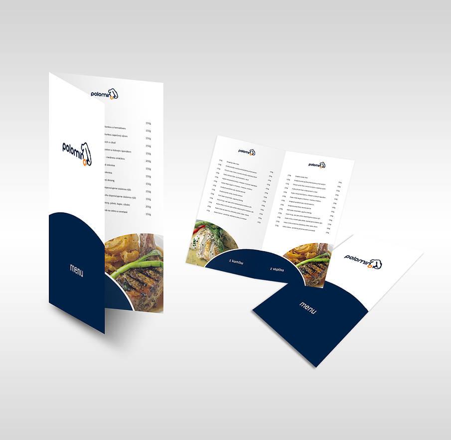 Polomino restaurant menu by dj-filla