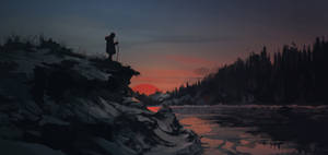 The Revenant (speedpaiting)