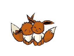 Cuddly Eevees by Spkmw