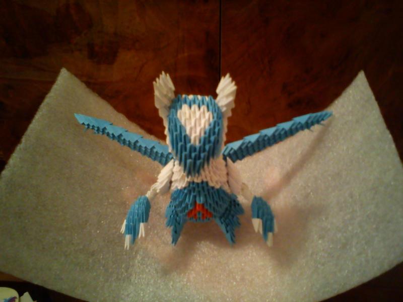 3D Origami Latios By Spkmw