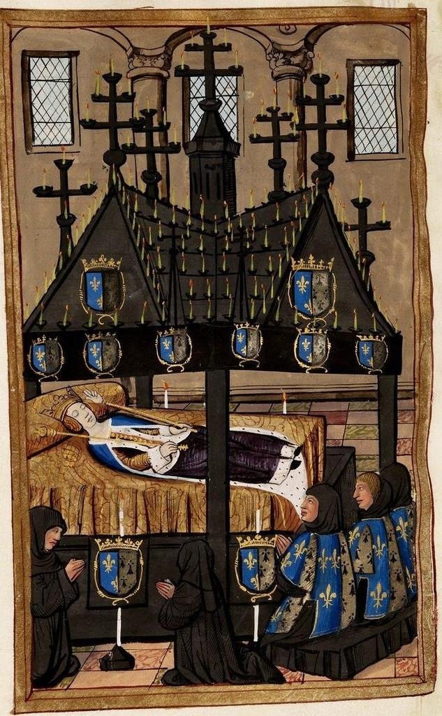 9 Chapelle ardente à Saint-Denis 15 f&eacut by lombregrise