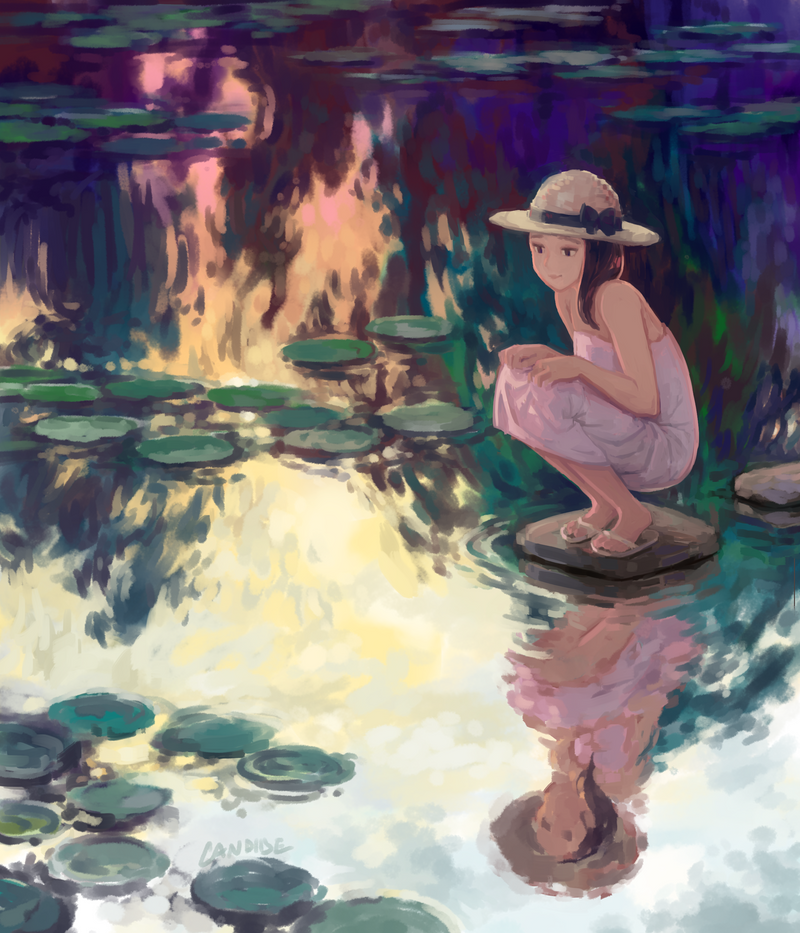 Water Lilies by CandideKun