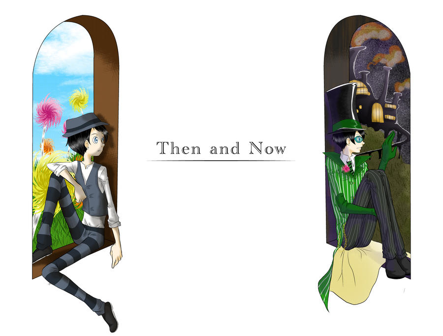 Then and Now by MidoriLied