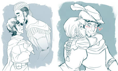King's Quest Kisses by MidoriLied