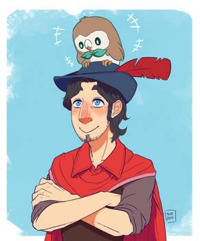 Pokemon Trainer Graham by MidoriLied