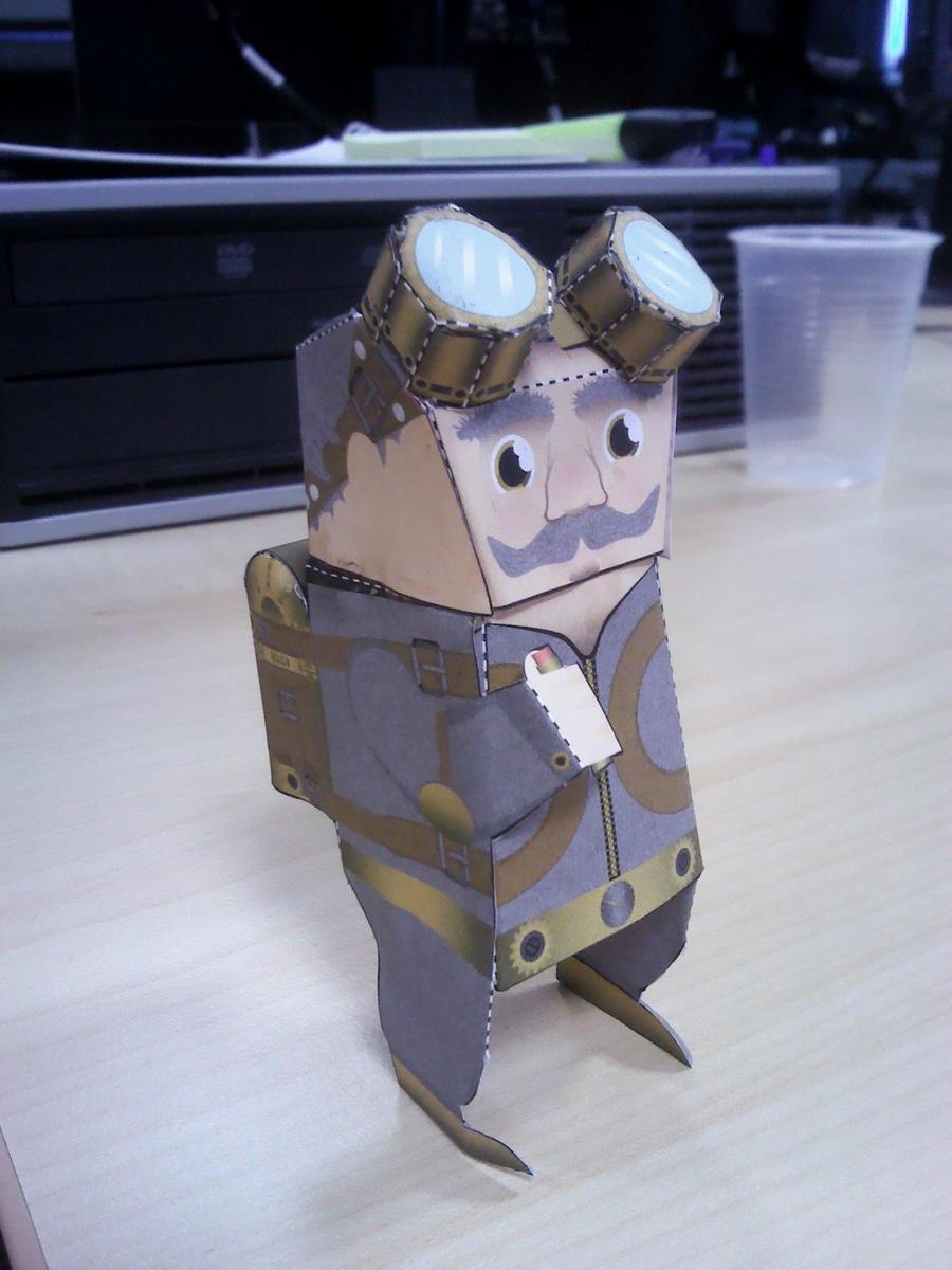Steam Rider papercraft ! by Merengil