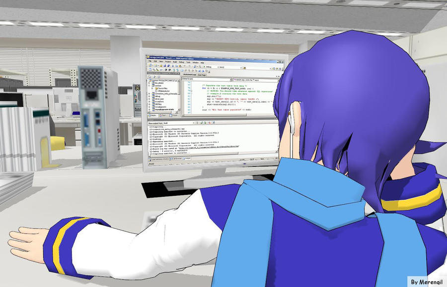 [MMD] Working and compiling... by Merengil