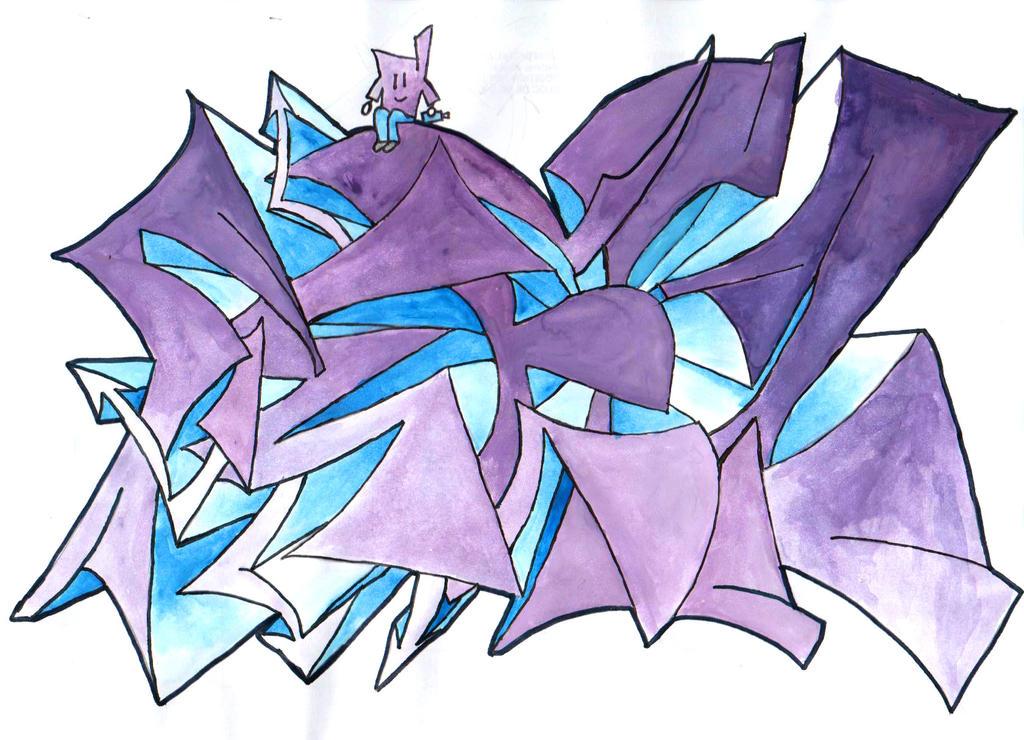 Feelz - Graffiti by Merengil