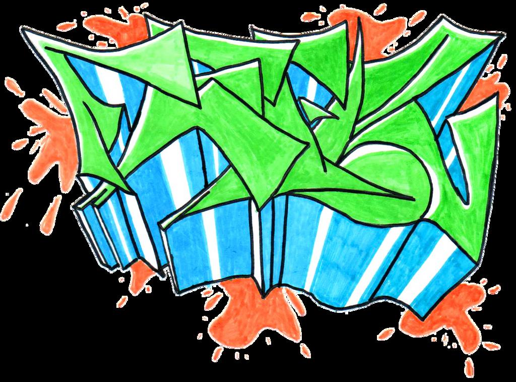 Feelz - Graffiti 3 by Merengil