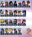 Overwatch character sheet