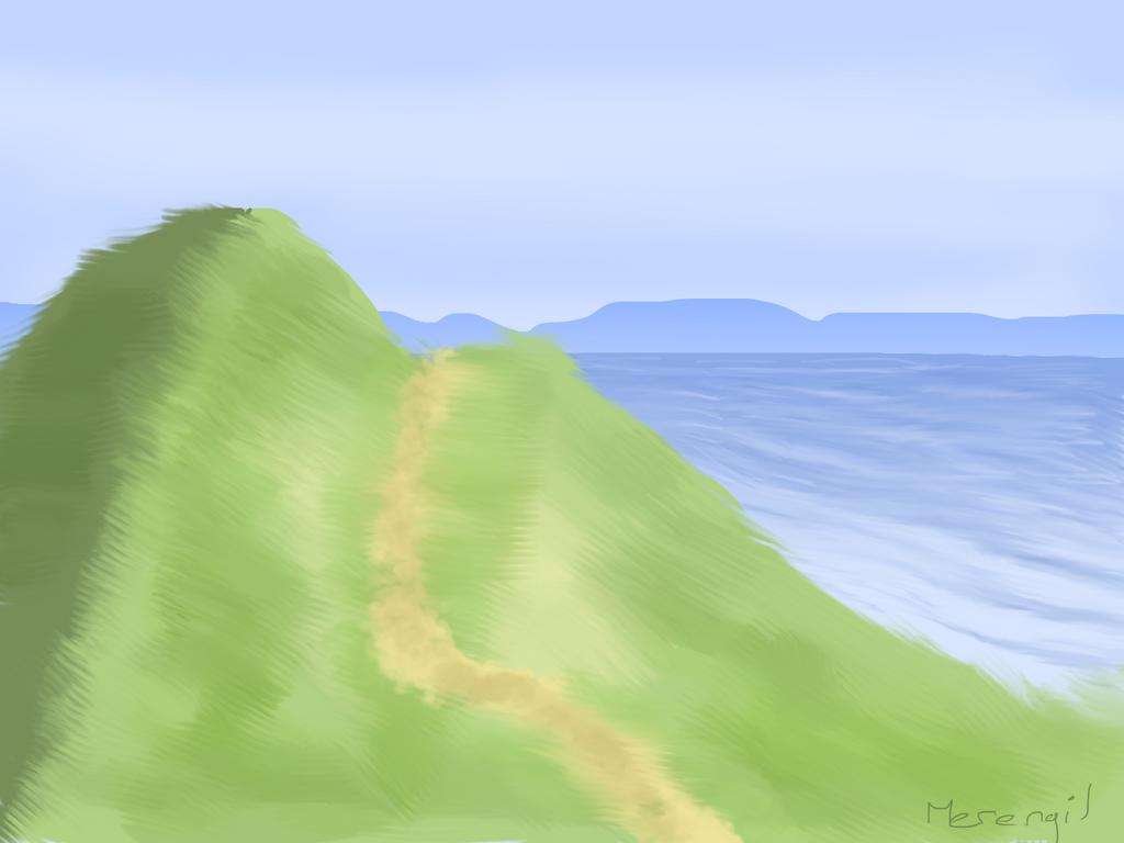 Practice Landscape by Merengil