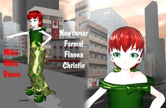 MMD  Formal - Flanna Christie - UTAUroid