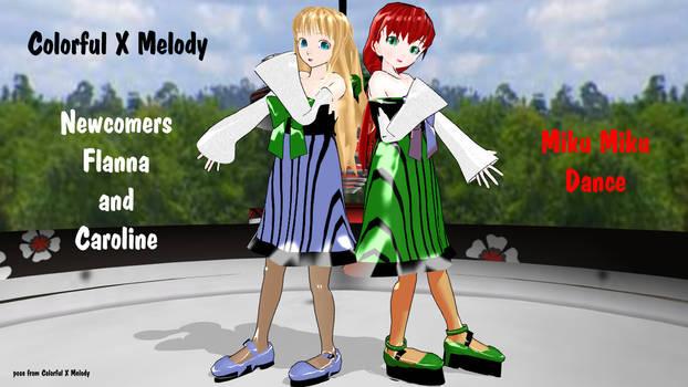 MMD Colorful x Melody - Flanna Caroline - Retired