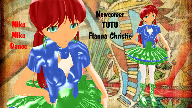 MMD TUTU - Flanna Christie - UTAUroid - Retired