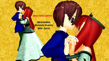 MMD - Princess Flanna and Serf Jayce - UTAUroid