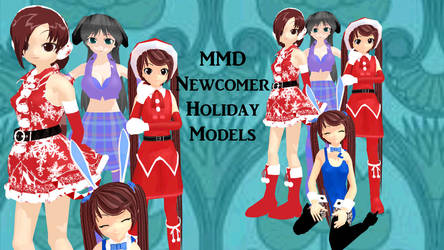 MMD Newcomers Holiday Models - Retired
