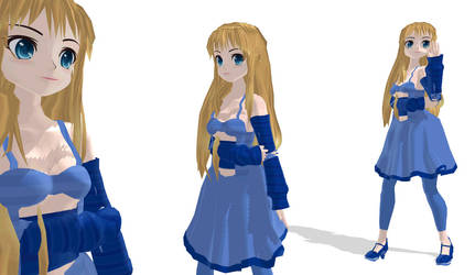 MMD Caroline Joy - v 2 - UTAUroid - retired