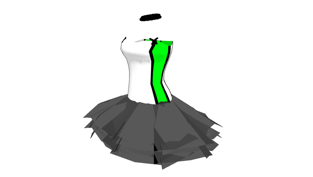 MMD Tutu and corset dress by mbarnesMMD