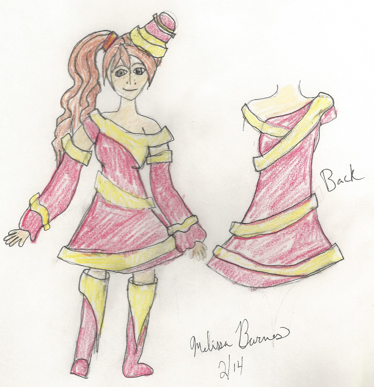 Rayna Kimball New Design by mbarnesMMD