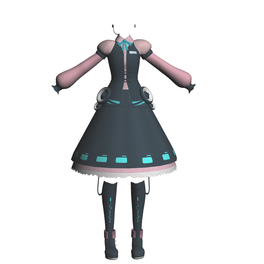 AIKA Wip4 by mbarnesMMD