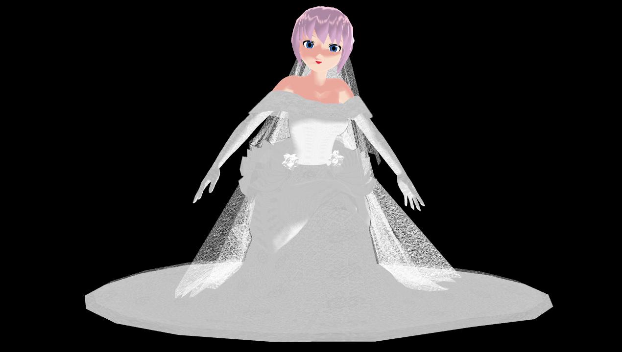 Mmd luka wedding dress picture by mbarnesmmd on deviantart