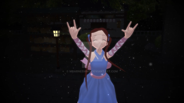 MMD UTAU Melody Line - New Riva Payce by mbarnesMMD