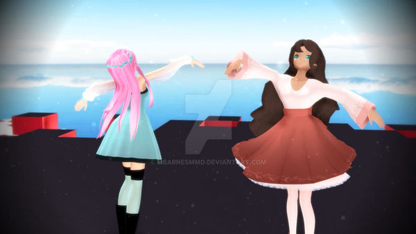 MMD UTAU Fall into the Invisible Darkness