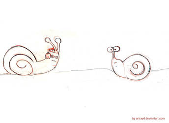 Snails by artrayd