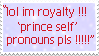 Prince ??? by faeshit