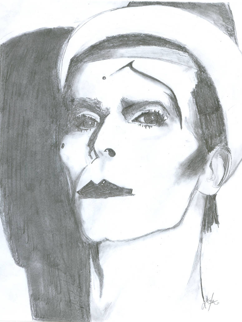 David Bowie ashes to ashes by lithiumed on DeviantArt