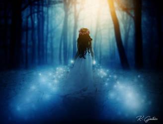 Enchanted Blue by netsrik24